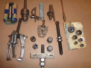 BEARING PULLERS & MISC ITEMS