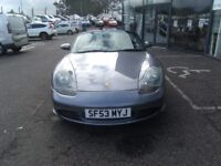 2003 02 PORSCHE BOXSTER 2.7 SPYDER 2D 228 BHP **** GUARANTEED FINANCE **** PART EX WELCOME ****