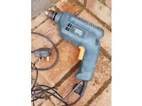Black & Decker electric drill with chuck
