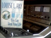 LOUISE L. HAY - YOU CAN HEAL YOUR LIFE 2x PRERECORDED CASSETTE TAPES