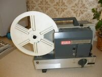 Eumig Mark 502D Projector and Metal screen