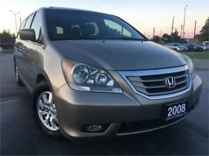 2008 Honda Odyssey EX-L, LEATHER, SUNROOF, CERTIFIED