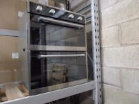AMF72BK 72CM BUILT UNDER DOUBLE OVEN £319