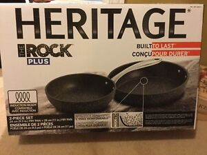 Heritage rock pan (set) NEW
