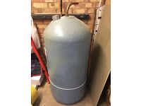 Indirect low pressure cylinder - only 4 years old