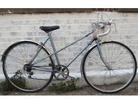 Vintage racing ladies bike RALEIGH WISP hand built frame size 20in - 5 speed NEW TYRES , serviced