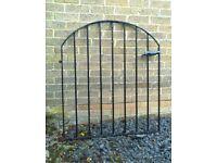 Reclaimed metal garden gates