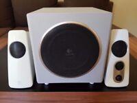 Logitech Z523 2.1 Speaker System 40 Watts with Subwoofer