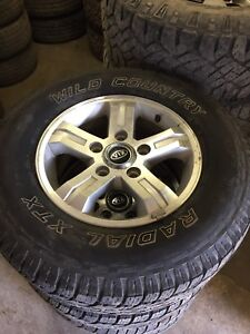 245/70R16 WILD COUNTRY RADIAL XTX