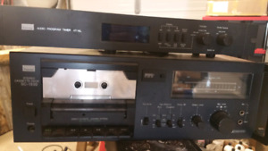 Sansui tape deck and programmable timer