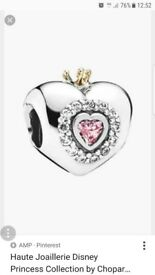 PANDORA 'Princess Heart' Bead Charm