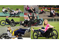 Trike. High performance recumbent trike for children and adults.