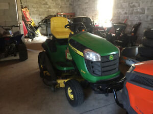 Wanted to buy lawnmower tractor & snowblower