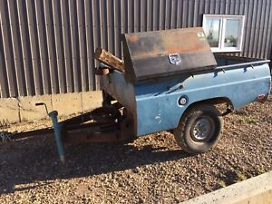 Ford Courier Pickup Box