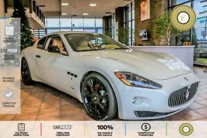 2008 Maserati GranTurismo PEARLESCENT WHITE ON BEIGE LEATHER!...