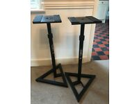 1 X Pair of BS300 Studio Speaker Stands. Hardly Used.