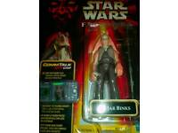 Star wars Jar Jar Binks Figure. £10.00. Can Post.