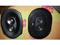 Brand new XS 400 watt car speakers