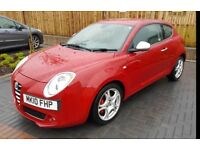 Alfa Romeo Mito 1.4 TB 155BHP MultiAir Veloce 3dr Leather Seats