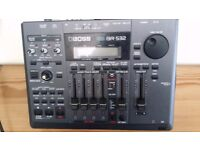 boss br 532 4 track digital recorder+ effects unit