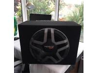 Subwoofer and Amp Hertz For Car/Van