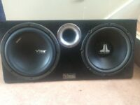Vibe subwoofer in box music subs amps