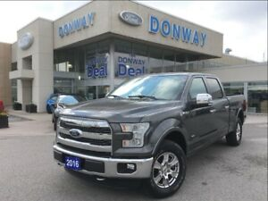 2016 Ford F-150 Lariat   1 OWNER   DONWAY SERVICED   LOW KMS