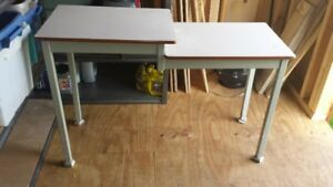 Small Metal Utility Table