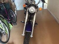 Jinlun motorbike for sale mint condition well looked after and garaged first to see will buy