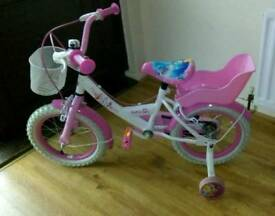Disney Princess Bike 14inch with Helmet