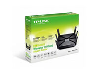 Tp link Archer 3200 ac3200 wireless tri band gigabit router brand new sealed unused
