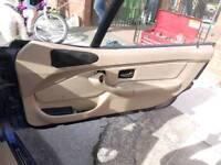 BMW Z3 interior beige