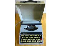 Portable Manual Vintage Boots PT800 Typewriter