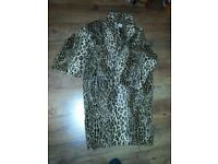 NINIVAH KHOMO LADY LEOPARD PRINT COAT, MORE SHOES AND HANDBAGS FOR SALE, £125, WIMBLEDON