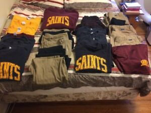 Girls and boys St Peter uniforms - many sizes!