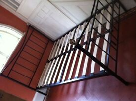 Metal Double Bed / Can Deliver