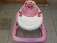 Baby walker in excellent condition-£10;seat is removable and can be washed