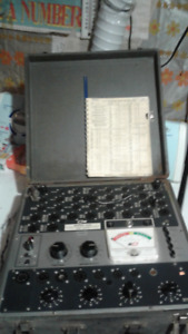 B & K TUBE TESTER For Sale- Works great