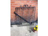 Iron gates x3