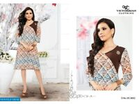 VICTORIAN WINGS VOL-2 WHOLESALE PRINTED LONG READYMADE TOP WEAR