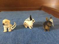 Three Schleich animals