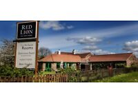 Assistant Manager to help run a 15 bedroomed country style inn
