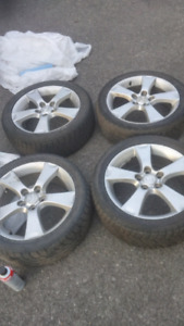 4 mags mazda 17 pouce 5x 114.3