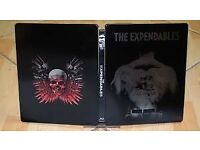 The Expendables 1&2 Blu-ray Steelbooks