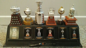 McDonald's greatest NHL trophies hockey collectibles