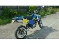 Husqvana te 610 e 2000 model road legal like ktm yz crf off road supermoto swap