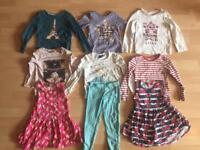 Girls 3-4 eight piece summer bundle Gap Disney