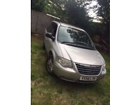 2006 Chrysler voyager LX 2006 2.4 petrol 2owners from new