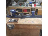 Wood working lathe