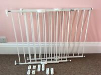 Two Lindam Extendible Stairgates